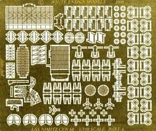 White Ensign Models 1/350 USS Nimitz Photo-etched parts for Trumpeter kit (2pcs)