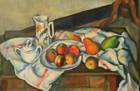 Paul Cezanne / Painting / Copy / Oil on canvas / Peaches and Pears /60cm x 90 cm