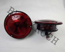 Rear Combination Tail Light Red fits Willys Jeep CJ3 CJ5 CJ6 CJ2A CJ3A CJ3B 24