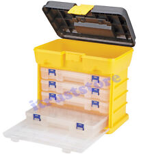 DELUXE TACKLE FISHING LURE BAIT ORGANIZER STORAGE HOLDER CARRYING TOOL BOX CASE