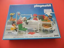 NIB! Retired Playmobil Doctor Hospital Patient Recovery Room    Model 3495
