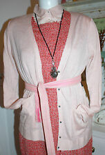 Noa Noa New Belt  Soft Summer Binde-Gürtel Textil Art Pink one size Neu