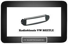 Radioblende VW BEETLE  Autoradio Einbaurahmen  Schwarz
