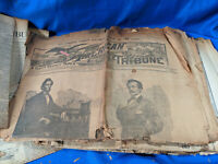 1890 LOT Newspaper American Tribune Indianapolis History Indiana Abraham Lincoln