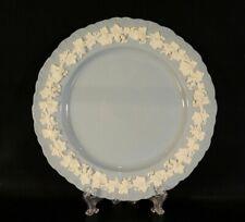 Wedgwood Cream Color on Lavender Dinner Plate. (Shell Edge)