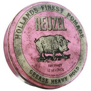 Reuzel Pink Strong Heavy Hold Grease Pomade 340g