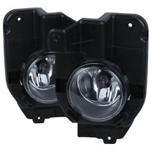 2011-2015 Ford Explorer Fog Lights Replacement Bumper Lamps Pair w/Switch/Wiring