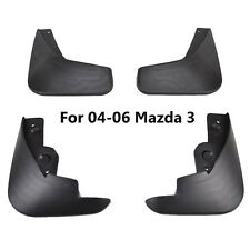 Set Mud Flaps Fit For Mazda 3 i 4-Door Sedan 2004 2005 2006 Splash Guards Fender