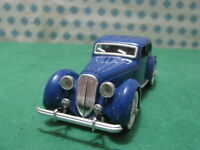 Vintage -  DELAHAYE 135 M  1938 -  1/43  Rio 63   - Made in Italy 1972
