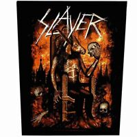 Slayer Devil On Throne Back Patch Official Heavy Metal Backpatch New