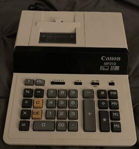 Canon MP210 Calculator