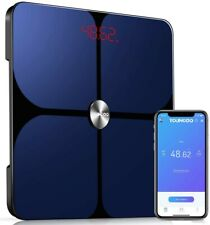 YoungDo Bluetooth Weight Scale Monitors with 23 Health Measurements - Smart App