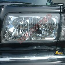 81 82 83 84 85 86 87 88 89 90 91 Mercedes W126 S Class 4Dr Headlights Chrome