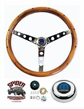 "1970-1974 Charger Challenger steering wheel CLASSIC WALNUT 15"" Grant"