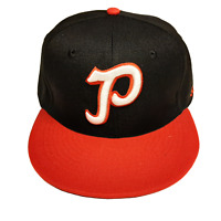 1955 Portland Beavers Rose City Edition Fitted Hat Trailblazers Trail Blazers