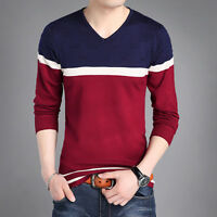 Brand New Men's Autumn Fashion Long Sleeve Cotton Casual Comfortable T-Shirts