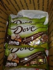 7x Bags Dove White Chocolate Caramel Apple with Graham bits
