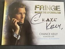 Fringe TV Series Auto Autograph Card Chance Kelly A13