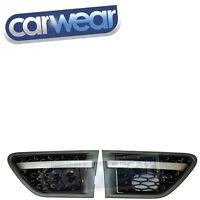 Brand New Range Rover Sport 10-13 Sport Style Side Black Mesh Grille