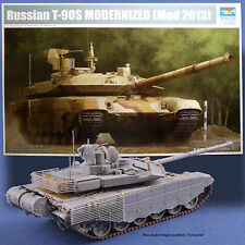 TRUMPETER RUSSIAN T-90S MODERNIZED (MOD 2013) MODEL KIT 09524