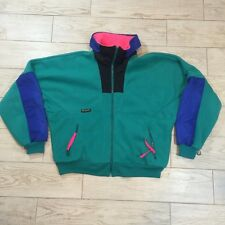 Vintage Colombia Sportswear WIZBANG 1980s Full Zip Fleece Jacket Men's XL