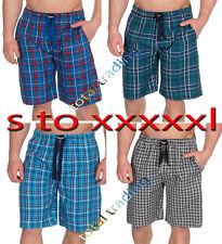 Mens Pyjamas Night Wear Pyjamas PJ Bottoms Lounge Shorts pants COTTON TWILL
