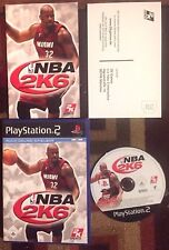 NBA 2K6 COMPLETE PAL EUROPEAN EDITION COMPLETE(Sony PlayStation 2) VG SHAPE