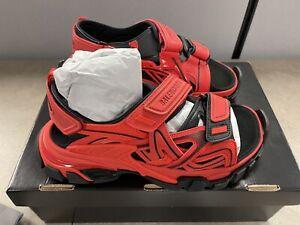 Balenciaga Track Sandal Deep Red/Black SZ EU 40 | US 7 SKU: 617542 W2FH1 6010
