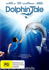 Dolphin Tale DVD TOP MOVIE NEW  Morgan Freeman Harry Connick Jr. TRUE STORY R4