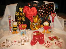 Garfield  Valentine His/Hers package Boxers Bra Socks etc.
