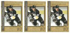 (3) 2008-09 Upper Deck Biography of a Season #BS13 Sidney Crosby Lot Penguins