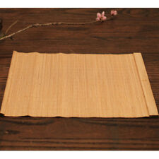 3pcs/Set Bamboo Vintage Placemats Mat Plate Table Dining Decoration 25x35cm