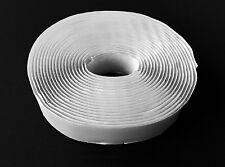 "10 Yards 1"" White Self Adhesive Loop Only Tape Fastener Wav25"