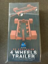 """DID 1/6 Scale 12"""" US Exclusive LAPD Swat 4 Wheels Trailer for Figure MA1003D New"""