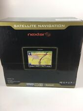 "NEXTAR GPS Satellite Navigation S3 NIB NEW MP3 Voice Prompt 3.5"" Touch Screen"