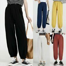 Pantaloni da donna senza marca in cotone