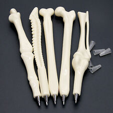 5Pcs Ball Point Pen Bone Shape Nurse Doctor Student Teacher Stationery Best Gift