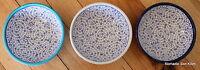 Turkish Ceramic Bowls Blue & White (12cm)Handpainted, Ottoman design, food safe