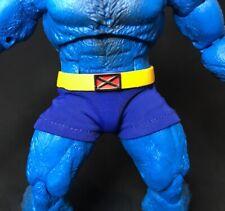 SU-UW-BST: 1/2 Blue Fabric Trunks for Marvel Legends Beast (No figure)