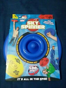 DUNCAN SKY SPINNER - THE ORIGINAL TRICK DISC FRISBEE TOY -  BLUE - NEW