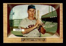 1955 Bowman #40 Vic Wertz EXMT+ X1268134