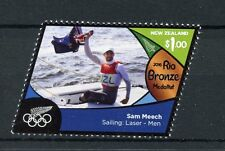 New Zealand NZ 2016 MNH Rio Bronze Medal Sam Meech Sailing 1v Olympics Stamps