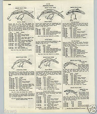 1951 53 PAPER AD Sir James McGuiny Spinner Lure Fishing Helin Musky Flat Fish