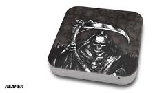 Skin Decal Wrap for Apple Mac Mini Desktop Computer Graphic Protector REAPER BLK
