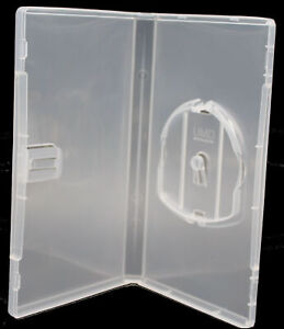 New Sony PSP Clear Replacement Storage Shell Box New 15mm Video Game Cases