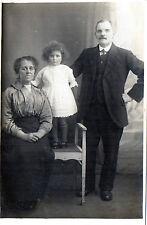 Antique Original Postcard 'Family', (RP)