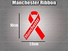 Manchester Ribbon Decal custom,window,panel,laptop,tablet,door,