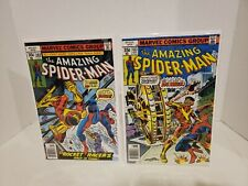 The Amazing Spider-man #182-183 1st Big Wheel Key Marvel 1978