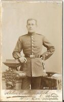 CDV photo Soldat - Neisse um 1900