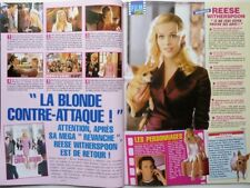 REESE WITHERSPOON  => 2 pages 2003 FRENCH CLIPPING !!!
